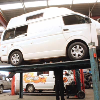 We service vans, cars, SUV's, truck and 4x4